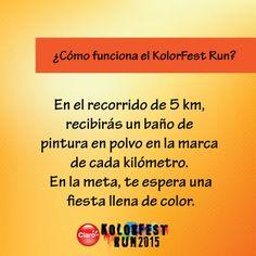 ¡Los #5km #máskoloridos de Guatemala te esperan! #KolorFestRunGT #muchomásqueunacarrera #muypronto