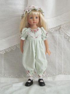 "13"" Effner Little Darling BJD Fashion Pink Green 5pc OOAK Handmade Set by JEC | eBay"