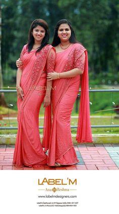 Saree Designs Party Wear, Party Wear Sarees, Trendy Sarees, Fancy Sarees, Saree Blouse Patterns, Saree Blouse Designs, Cutwork Saree, Embroidery Saree, Christian Bridal Saree