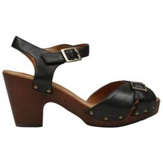 SALE - Miz Mooz Hype Platform Heels Womens Black Leather - Was $110.00 - SAVE $30.00. BUY Now - ONLY $79.99.