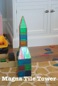 Magna Tiles are a great gift. One of my son's favorite toys to play with.