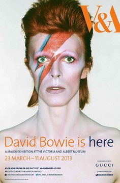 The David Bowie Exhibition at the Victoria and Albert Museum, London