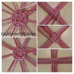Paper Basket Weaving, Basket Weaving Patterns, Willow Weaving, Newspaper Basket, Newspaper Crafts, Origami And Kirigami, Magazine Crafts, Macrame Design, Camping Crafts