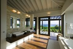 Reinterpreted Traditional Caribbean Architecture in a Modern Way - http://freshome.com/2014/02/19/reinterpreted-traditional-caribbean-architecture-modern-way/