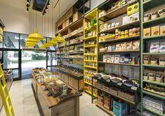 ZEST- Nature Deli by Naama Zohar / Interior planning and design, Tel-Aviv – Israel » Retail Design Blog