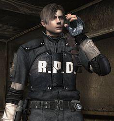 Leon, resident evil.