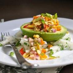Avocado Cup Salad