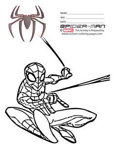 Planse De Colorat Spiderman Coloring Pages 005 | cakes ...