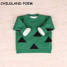 Awesome 2017 winter baby sweater baby girls sweater thick fleece cotton baby boy sweaters Pullover fashion knitted baby cardigan - $ - Buy it Now!