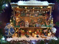 Miniature German Christmas Market Stall