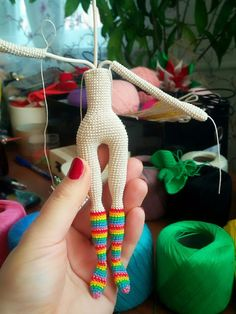 Single Crochet (вяжем куколок вместе)