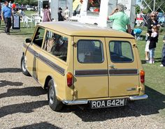1974 Austin Mini Clubman - the coolest car my mum ever owned...
