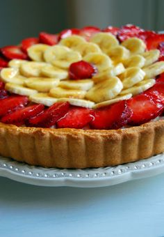 Eileen Cuisine: Tarta cu fructe Fruit Tart, Healthy Recipes, Healthy Foods, Cheesecake, Food And Drink, Sweets, Cookies, Desserts, Deserts
