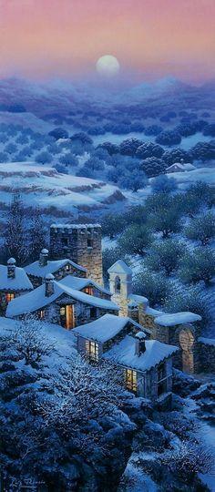 Luis Romero winterscape