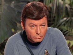 "Star Trek (1966 TV)  DeForest Kelley as Leonard ""Bones"" McCoy"