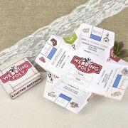 Invitatii nunta DELUXE :: Colectia Alice :: Invitatie nunta cod 39604 - Eventisimo Monopoly, Alice, Wedding Invitations, Boyfriends, Party, Style