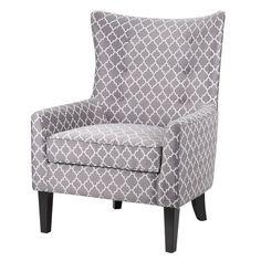Madison Park Madison Park Carissa Shelter Wing Slipper Chair & Reviews | Wayfair