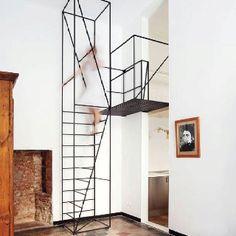 Metal staircase Francesco librizzi studio Via cube me