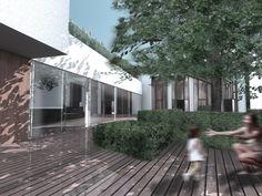 Óbudai Multifunkciós Közösségi Központ – megosztott III. díjas terv Museum, Outdoor Decor, Home Decor, Hungary, Homes, Decoration Home, Room Decor, Home Interior Design, Museums