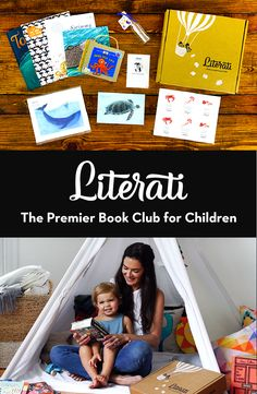 Literati is the premier book club for children. Every month, Literati sends 5 beautiful, brand-new books in a magical package personalized to your child. Explore everything for a week. Buy only books you love.