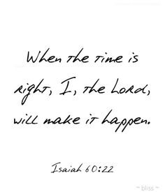 Thank you, Lord for your awesome love and infinite wisdom.