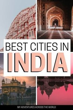 The 7 Best Cities In India – Tips On How To Enjoy Them Read this post to discover the 7 best cities in India and find some useful tips on how to make the most of them in a responsible way Cool Places To Visit, Places To Travel, Travel Destinations, Vacation Travel, India Travel Guide, Asia Travel, Travel Nepal, Italy Travel, Travel Bag