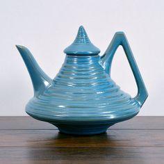 Ceramic Teapot Vintage Ceramic Teapot by ZoeDesignsVintage on Etsy