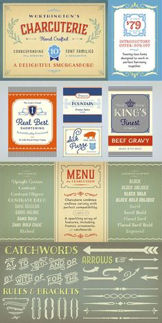 Charcuterie, designed by Laura Worthington. Font Family, Cursive, Charcuterie, Fonts, Personalized Items, Type, Crafts, Design, Designer Fonts