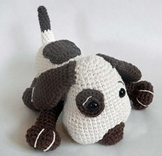 Crochet Toy Pattern for Amigurumi Dog