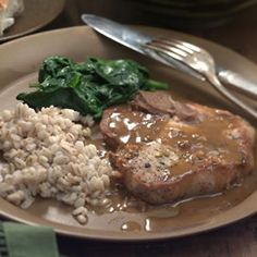 Pork Chops with Orange-Soy Sauce Recipe - http://recipes.millionhearts.hhs.gov/recipes/pork-chops-orange-soy-sauce