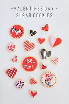 I have been so excited to make some valentines Day cookies this year. I got an AMAZING new cookie…