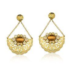 Iza Perobelli, marca expositora da Feira Bijoias. brinco, maxi brinco, fashion jewelry, acessório