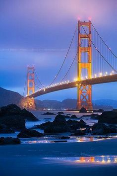 San Fancisco Architecture : Golden Gate bridge, San Francisco (by Beboy_photographies) San Francisco California, San Francisco Bay, California Dreamin', Vallejo California, Puente Golden Gate, Places Around The World, Around The Worlds, San Fransisco, Golden Gate Bridge