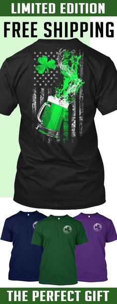 St. Patrick's Day Splash - Limited Edition. Only 2 days left for free shipping, get it now!