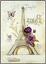 OJIA Retro Vintage Paris Eiffel Tower Home 18 X 18 Inch Cotton Linen Decorative Throw Cushion Cover / Pillow Sham Vintage Paris, Retro Vintage, Vintage Travel, Scrapbooking Paris, Embroidery Kits, Beaded Embroidery, Embroidery Jewelry, Paris Amor, Paris Kunst