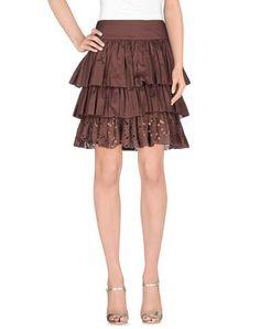 BLUMARINE Knee length skirt. #blumarine #cloth #dress #top #skirt #pant #coat #jacket #jecket #beachwear #