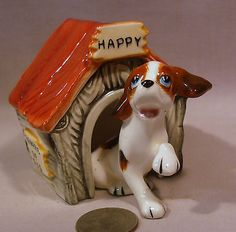 Vintage Happy His Dog House s P Shakers | eBay