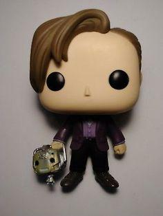 FUNKO POP Doctor Who eleventh sdcc 2015 cyberman head LOOSE figure lot