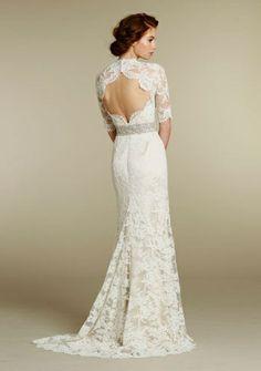 Chic Special Design abito da sposa in pizzo abito da sposa ♥