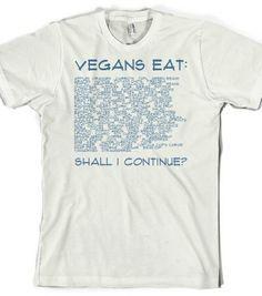 49fc5a4d7 17 Best Vegetarian Shirts images | Eggplants, T shirts, Vegan clothing