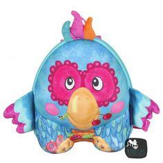 cb11b7264ce Okiedog kids rugzak blauwe papegaai Backpacker, Portemonnee, School,  Kinderen, Portemonnee