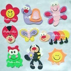 Pinkie Blue Artigos para festa: apliques Jardim encantado Foam Crafts, Crafts To Make, Crafts For Kids, Arts And Crafts, Paper Crafts, Montessori Activities, Craft Activities, Art Classroom Decor, Work With Animals