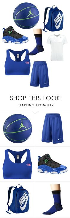 Basketball by zoeiefinley on Polyvore featuring The North Face and NIKE