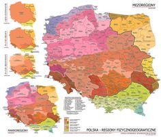 Mapa Polski Grafika