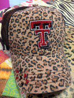 Back at the Ranch - Texas Tech Bling Trucker Hat, $36.00 (http://www.backattheranchtx.com/texas-tech-bling-trucker-hat/)