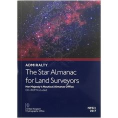 ADMIRALTY: The Star Almanac for Land Surveyors ( NP321-17 | 2017 ) [£20.50]