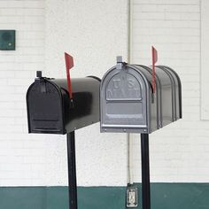 RURAL MAIL BOX (L) GUN METAL | Metal Products,Other equipment | | P.F.S. Online Shop