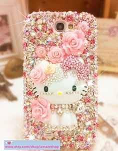 Hello Kitty phone case - more girly bling is impossible...