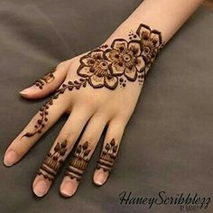 Most beautiful and easy mehndi designs See more ideas about Henna designs easy, Henna designs and Henna. How to Do Henna Design for B. Henna Tattoo Designs Simple, Finger Henna Designs, Henna Art Designs, Mehndi Designs 2018, Mehndi Designs For Girls, Mehndi Designs For Beginners, Unique Mehndi Designs, Mehndi Designs For Fingers, Mehndi Design Images