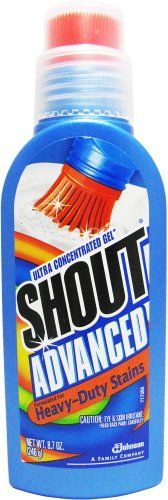 Gotta have with a 12 year old boy! Shout Advanced Gel, 8.7-Ounce (Pack of 3)